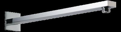 Celokovový hranatý držák hlavové sprchy 410mm