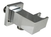 INTERCOM hranatý celokovový stěnový vývod s držákem sprchy
