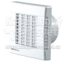 ventilátor do koupelny VENTS s žaluzií a čidlem vlhkosti 14W 100MATH