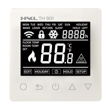 HAKL TH901w digi termostat BÍLÝ