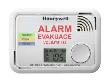 HONEYWELL XC100D detektor a hlásič úniku plynu CO , ŽIVOTNOST 10 LET