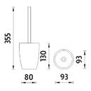 Nimco - Ava - Toaletní WC kartáč - AV 15094-90