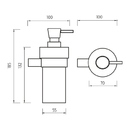 Nimco - Bormo - Dávkovač tekutého mýdla - BR 11031KN-T-26