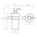 Nimco - Bormo - Dávkovač tekutého mýdla - BR 11031W-26