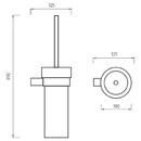 Nimco - Bormo - Toaletní WC kartáč - BR 11094K-26