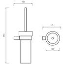 Nimco - Bormo - Toaletní WC kartáč - BR 11094W-26