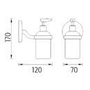 Nimco - Kalypso - Dávkovač tekutého mýdla - KA 7431C-P-26