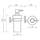Nimco - Keira - Dávkovač tekutého mýdla - KE 22031W-T-26