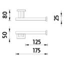 Nimco - Keira - Držák na toaletní papír - KE 22055-26