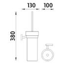 Nimco - Keira - Toaletní WC kartáč - KE 22094W-26