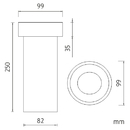 Nimco - Náhradní díl - Náhradní WC nádobka - 1094PA