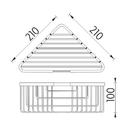 Nimco - Open - Drátěná polička - OP 107-26