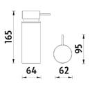 Nimco - Polo - Dávkovač tekutého mýdla - PO 18031-90-90