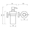 Nimco - Unix - Dávkovač tekutého mýdla, pumpička plast - UN 13031W-26