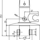 Novaservis Bidetová podomítková baterie METALIA chrom 57211,0