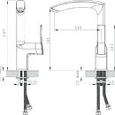 Novaservis Dřezová baterie Metalia 56 chrom 56713,0
