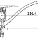 Novaservis Dřezová baterie PADWA chrom 73091,0
