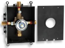 Novaservis Montážní podomítkový box chrom BOX050
