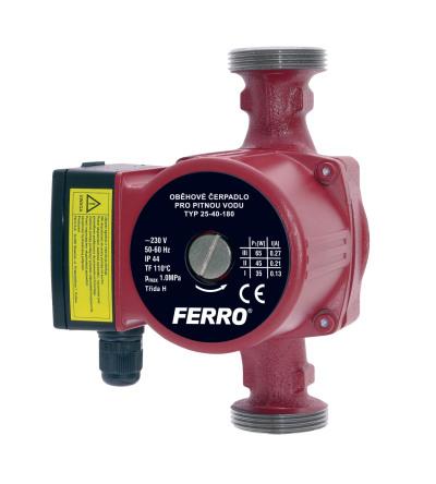Novaservis Oběhové čerpadlo pro pitnou vodu 25-60/180mm W0202