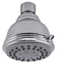 Novaservis Pevná sprcha 3-polohová průměr 75 mm chrom RUP/157,0