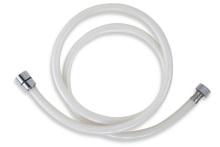 Novaservis Plastová hadice 150 cm bílá-chrom PVC/155,1
