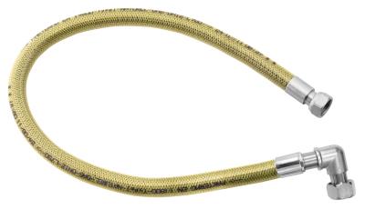 """Novaservis Plynová připojovací hadice s kolínkem 1/2"""" MM-1,25m WGK1250"""