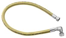 """Novaservis Plynová připojovací hadice s kolínkem 1/2"""" MM-1m WGK1000"""
