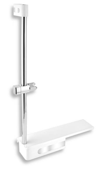 Novaservis Posuvný držák sprchy s poličkou 65586,4