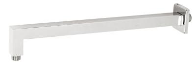 Novaservis Rameno pevné sprchy hranaté ze stěny 400 mm chrom RAM400,0