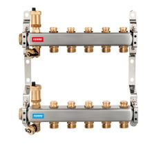 Novaservis Rozdělovač nerez s regulačními mechan. ventily 12 okruhů SN-ROU12S