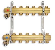 Novaservis Rozdělovač s regulačními a mechanickými ventily 9 okruhů RO09S