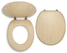Novaservis Sedátko dýhované dřevo WC/BRIZA