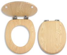 Novaservis Sedátko dýhované dřevo  WC/SOFTJASAN
