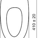 Novaservis Sedátko tvarované dřevo Lyra WC/SOFTMUSLELY