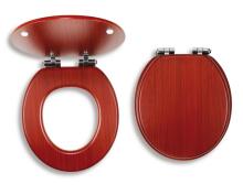 Novaservis Sedátko tvarované dřevo Lyra WC/SOFTORECHLY