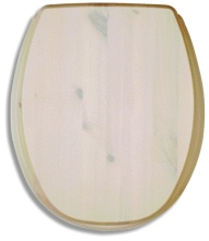 Novaservis Sedátko tvarované dřevo WC/BOROVICEBILA