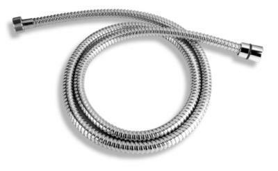 Novaservis Sprchová hadice kovová dvouzámková chrom 200cm H/7200,0