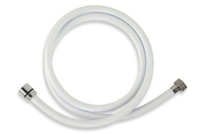 Novaservis Sprchová hadice plastová 150 cm bílá PVC/150,11
