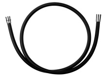 Novaservis Sprchová hadice plastová, 150 cm černá BLACK/150,5