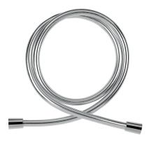 Novaservis Sprchová hadice plastová, 150 cm, stříbrná  NOVAFLEX/150,0