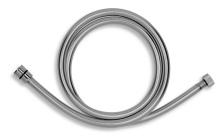 Novaservis Sprchová hadice plastová, 150 cm, stříbrošedá GREY/150,0