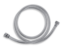 Novaservis Sprchová hadice plastová 175 cm chrom SPIRAL/175,0