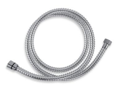 Novaservis Sprchová hadice plastová 200 cm chrom SPIRAL/200,0