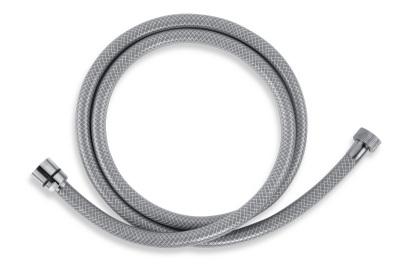 Novaservis Sprchová hadice plastová 200 cm šedá PVC/200,8
