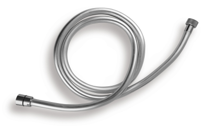 Novaservis Sprchová hadice plastová, stříbrná , 150cm SILVER/151,0