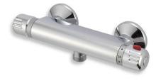 Novaservis Sprchová termostatická baterie 150 mm Aquamat chrom 2660/1,0