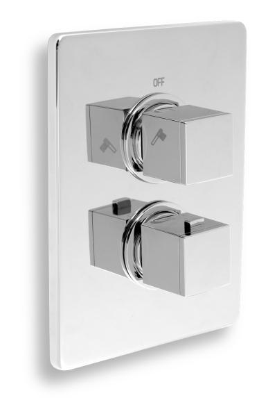 Novaservis Sprchová termostatická baterie 2-cestný ventil chrom 2850R,0