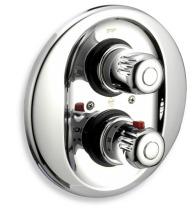 Novaservis Sprchová termostatická baterie 3-cestný ventil Aquamat chrom 2650RX,0