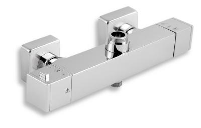 Novaservis Sprchová termostatická baterie s dolním a horním vývodem 150 2862/1,0