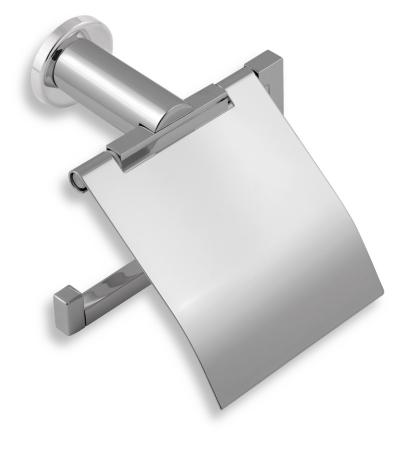 Novaservis Závěs toaletního papíru s krytem Metalia 2 chrom 6238,0